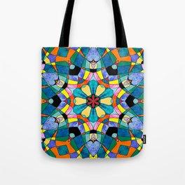 fractal V Tote Bag