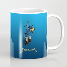 Zelda llinka - Blue Link Coffee Mug