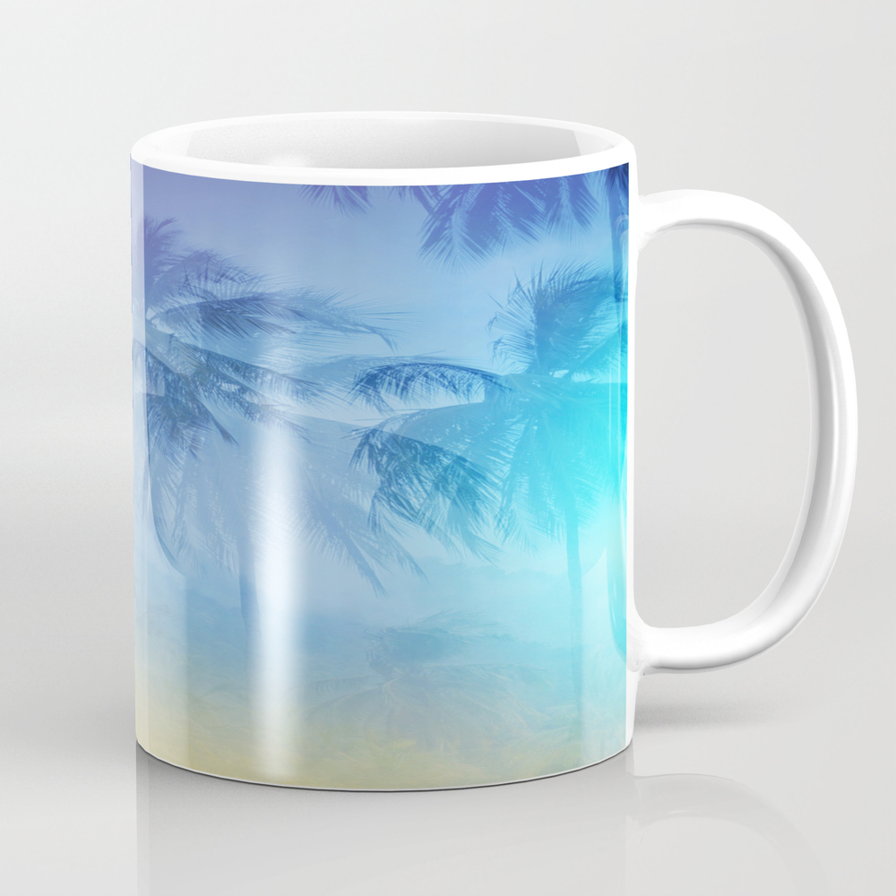 Life Is Better At The Beach Mug by Vossdesign MUG8902473