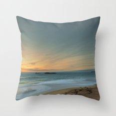 Sandwood Bay at Sunset Throw Pillow