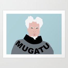 Mugatu Art Print