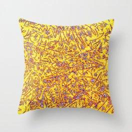 Raspberry Lemonade Throw Pillow