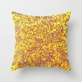 Raspberry Lemonade Throw Pillow