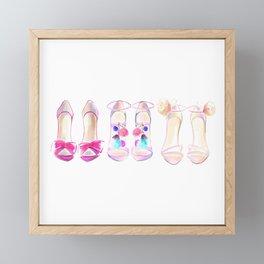 Shoes no 1 Framed Mini Art Print