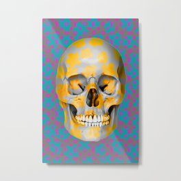 Skull Pop Art - For the love of Appropriation Metal Print
