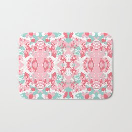 Arabella - abstract minimal pattern print art home decor trendy girly boho dorm college painting Bath Mat