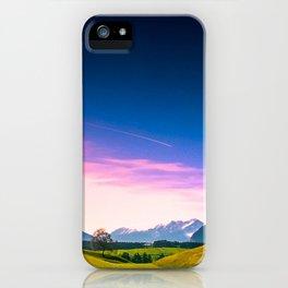 Sunset Hills iPhone Case