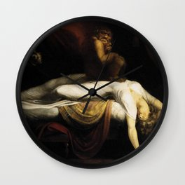 Henry Fuseli The Nightmare Wall Clock