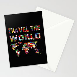 Love of travel Stationery Cards