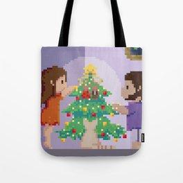 Christmas together Tote Bag