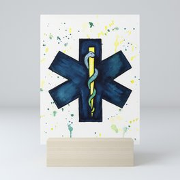 EMT Hero Mini Art Print