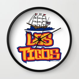 Costa Rica Los Ticos ~Group E~ Wall Clock