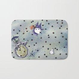 Totoro&Chibi Bath Mat