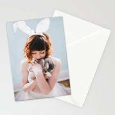 Bunny Love II  Stationery Cards