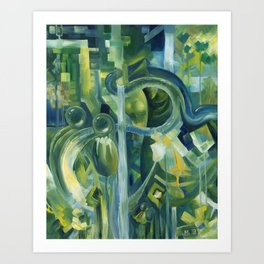 Of slugs and snakes and bottoms and two sides to things Art Print