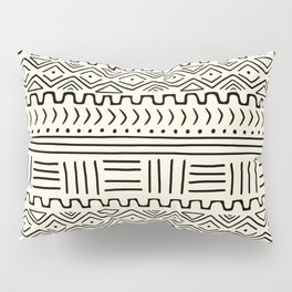 Mud Cloth on Cream Pillow Sham