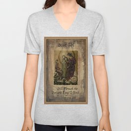 Sulamith Wulfing - Sweet Girl Lyrics Inspired by Stevie Nicks Unisex V-Neck