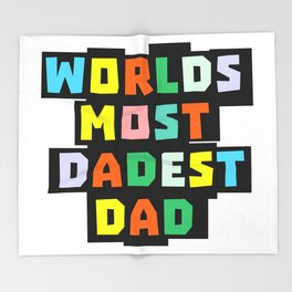 Dad Throw Blanket