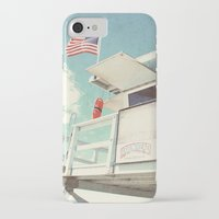 cabin iPhone & iPod Cases featuring The cabin by Retro Love Photography