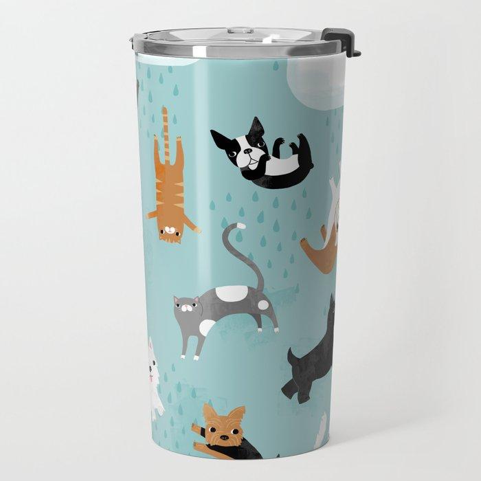 Raining Cats & Dogs Travel Mug