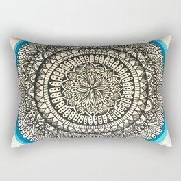 Detailed Mandala Rectangular Pillow