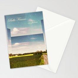 Belle France, en pièces Stationery Cards