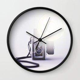 Vintage Twin Lens Reflex Camera Wall Clock