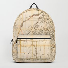 Map of the State of Pennsylvania (1896) Backpack