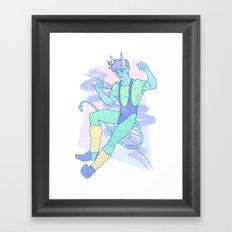 Jazzercise Framed Art Print