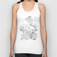 key Tank Tops featuring Key by ℳajd