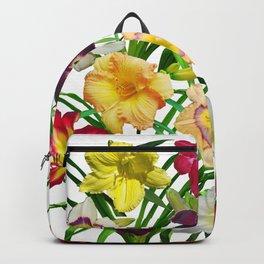 Display of daylilies I Backpack
