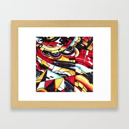 Drsstract2 Framed Art Print