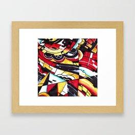Drsstract2 Framed Art Print
