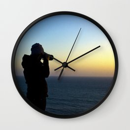 Capturing Sunsets Wall Clock