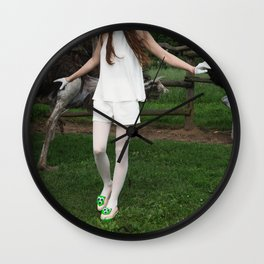 Where am I? Who are you? Wall Clock