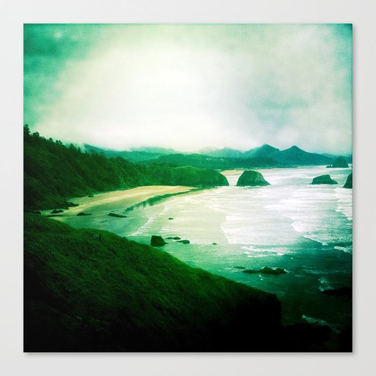 Wet and Rusting Canvas Print