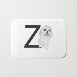 Z is for Zuchon Bath Mat