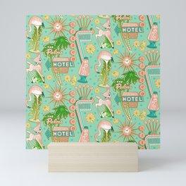 Motel Kitsch Pastel Mini Art Print