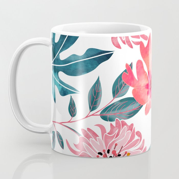 Yours Florally Coffee Mug