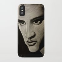 elvis iPhone & iPod Cases featuring ELVIS by John McGlynn