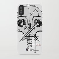 architect iPhone & iPod Cases featuring The Architect by Gwen Parker