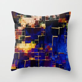 ALL BOXED IN Throw Pillow