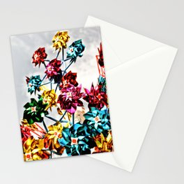 Caught By The Wind Stationery Cards