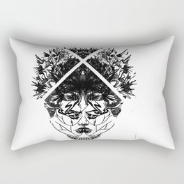 half a head half a mind. Rectangular Pillow