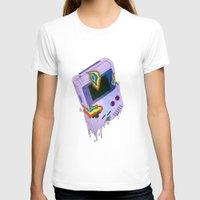 gameboy T-shirts featuring Gameboy Melt by KING BOZU