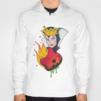 evil queen Hoodies featuring Evil Queen #1 by Jeef