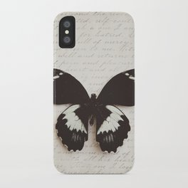 Papilio Aegus Butterfly iPhone Case