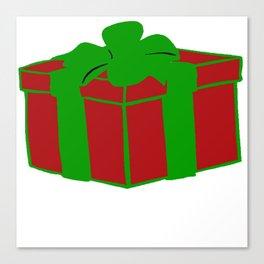 Gift Box Canvas Print