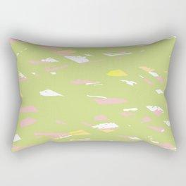 Lime terrazzo Rectangular Pillow