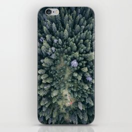 Camping in the Woods iPhone Skin